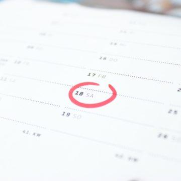 Días de la semana: elementos que mueven su energia